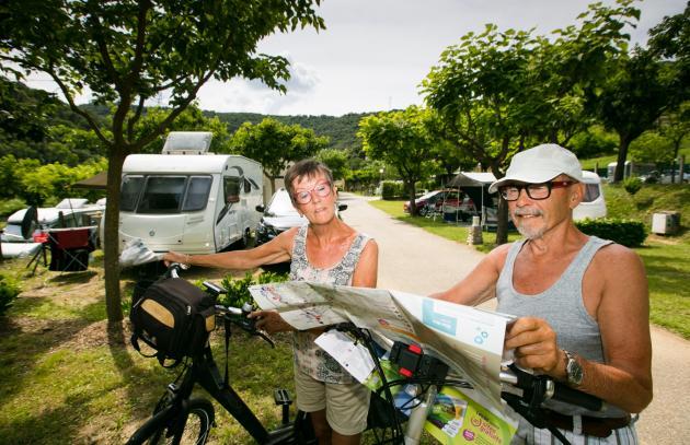Fahrradtourismus in der Ardèche