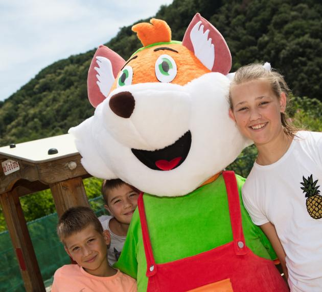 Children's club mascot