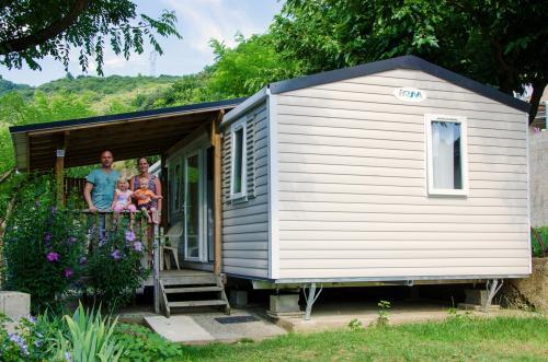 Mobil Home familial en Ardèche